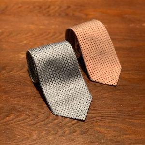 NWOT Giorgio Armani Tie Set (Authentic)